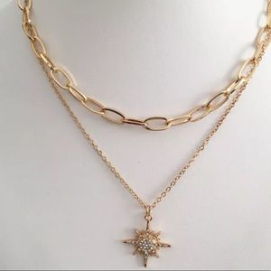 PRE ORDER NOW Gold layering necklace